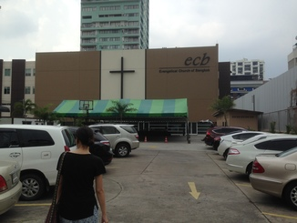 On Sunday Jinhee and I went to this church, which we really appreciated along with its American pastor.