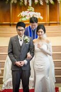 Pastor Choi performed the wedding ceremony, while Beau's Thai pastor gave the homily. Beau became a Christian while attending our church while a graduate student in Seoul. She met her husband Tong years ago and they were good friends for a long while before becoming a couple more recently.