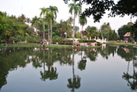 We found a beautiful park where the famed Chiang Mai chill was on full display.