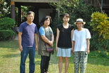 Jinhee along with the missionaries, Mr. and Mrs. Song and Yoon