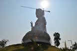 Nearby in the countryside they are building a gigantic Buddha. It seems like there is lots of spirituality in Thailand.
